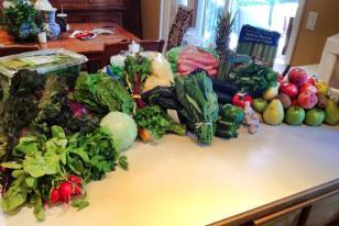 I've never bought so many veggies before...